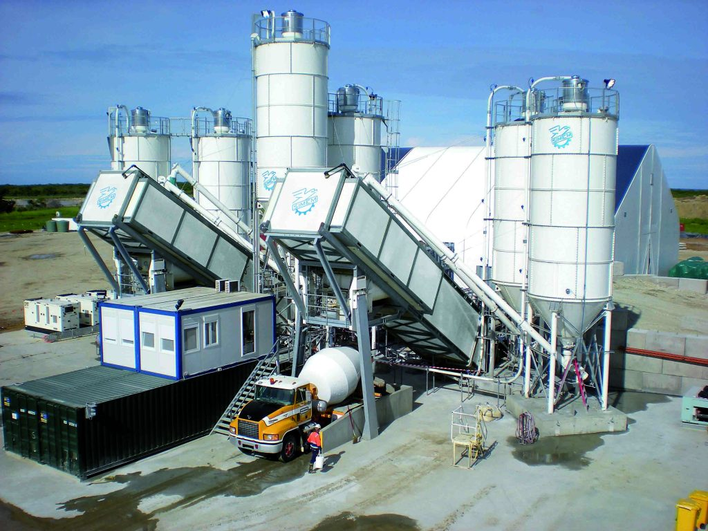 Simem super mobile batching plant MMX