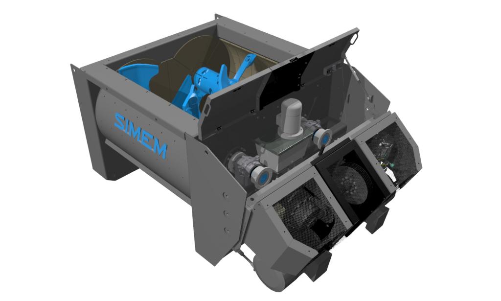 Simem RHYNO twin shaft mixer