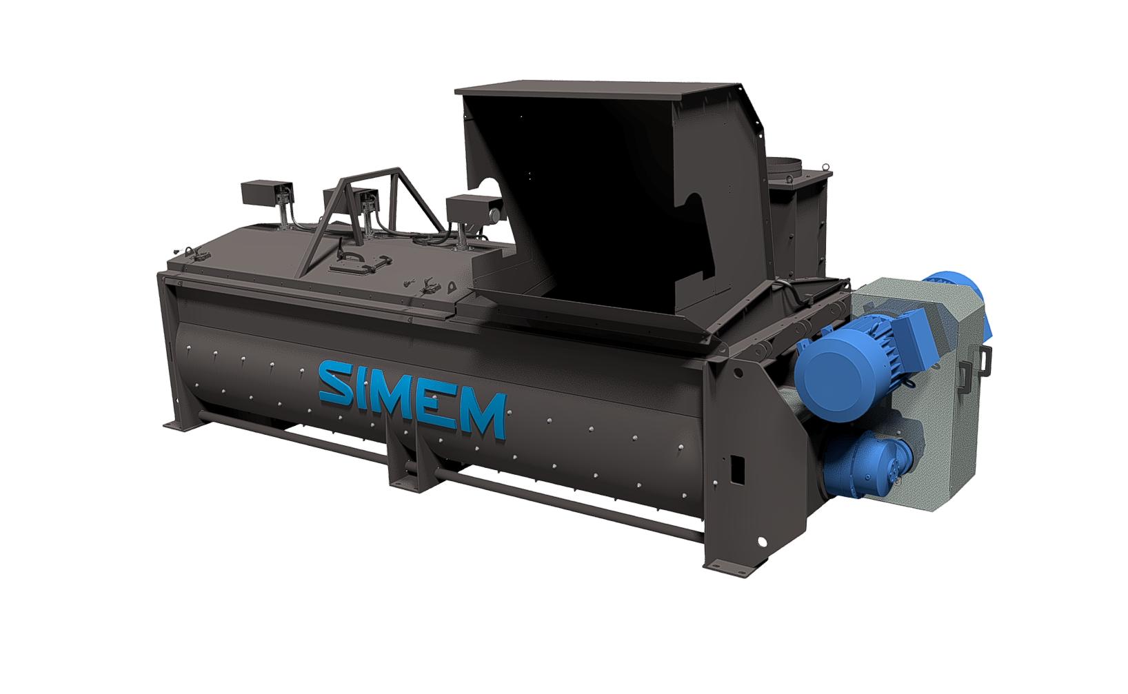 Simem ReMDC twin shaft mixer