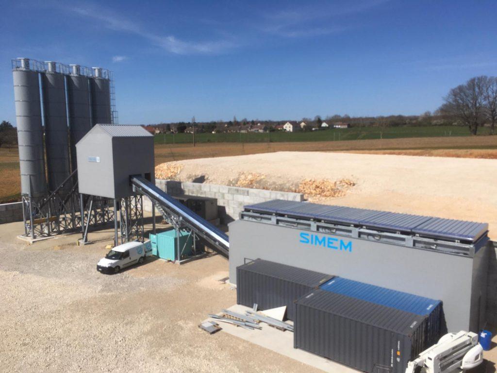 Simem semi mobile batching plant EAGLE