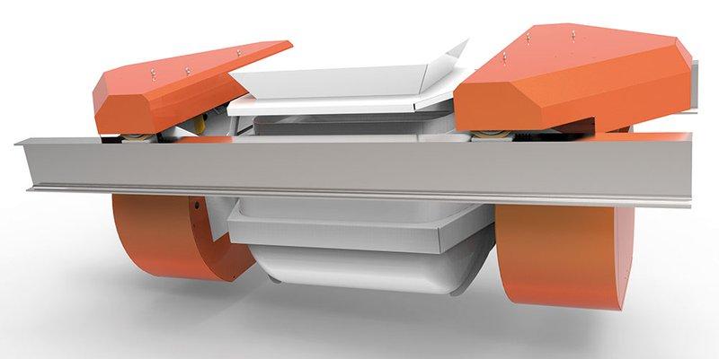 Simem Spil Pelican conveying system