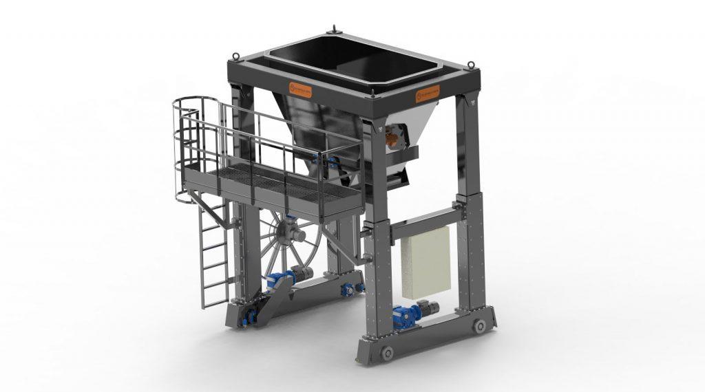 Simem Spil KANGAROO concrete processing machine