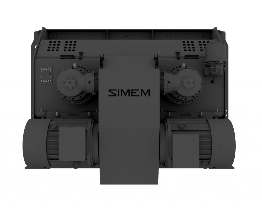 Simem MSO twin shaft mixer