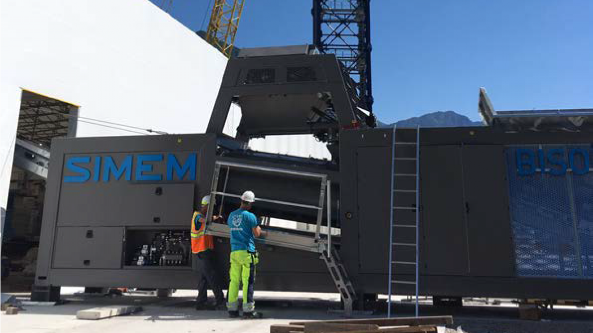 Simem Bison plant Switzerland
