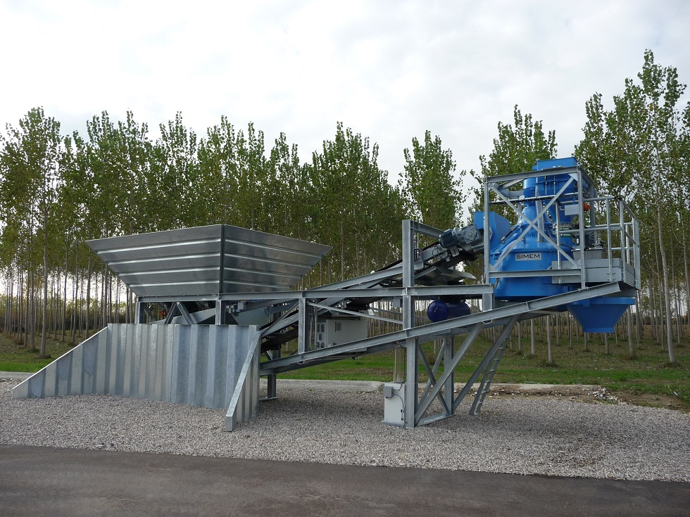 Simem semi mobile batching plant JUMPER