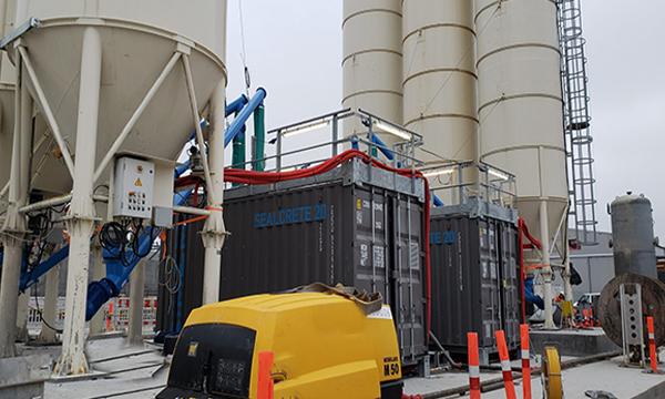SimemUnderground Sealcrete grouting plant