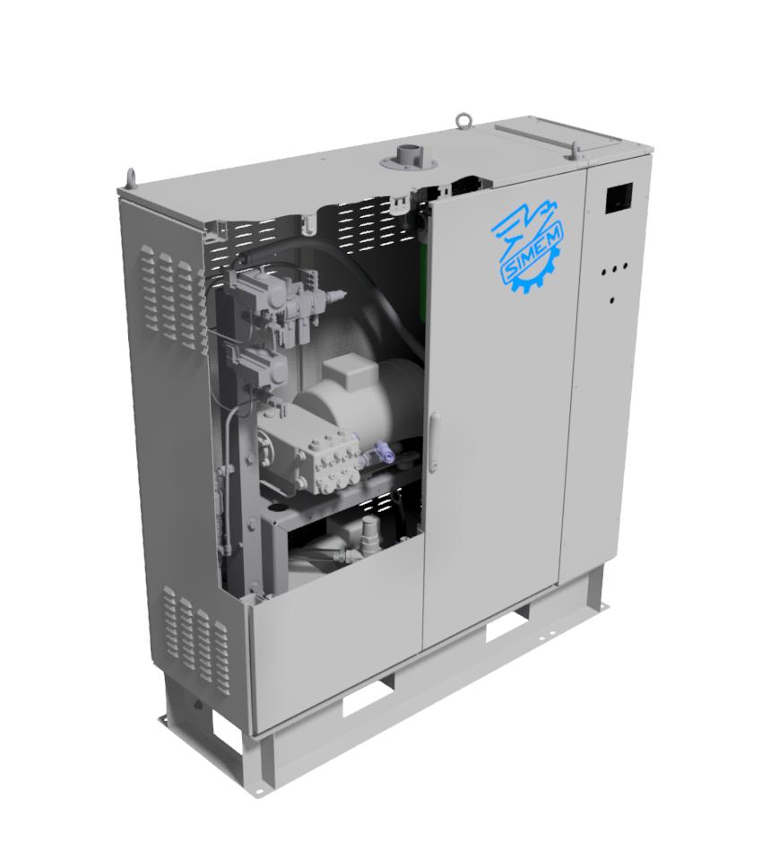 Simem Superwash plant washing system