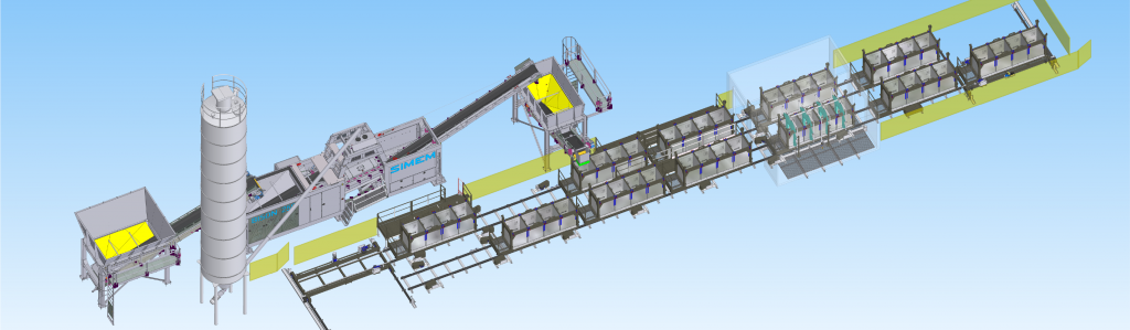 Simem integrated solution for tunneling BBMIX