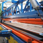 Simem Spil beams production line Brickbeam