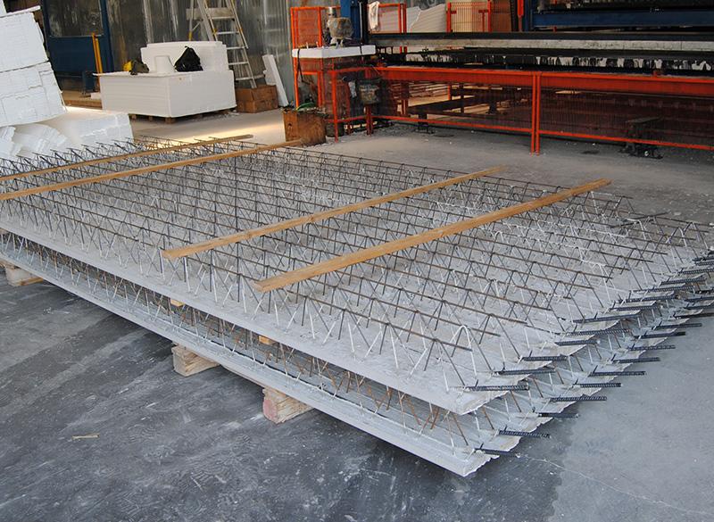 Simem Spil beams production line Cretebeam